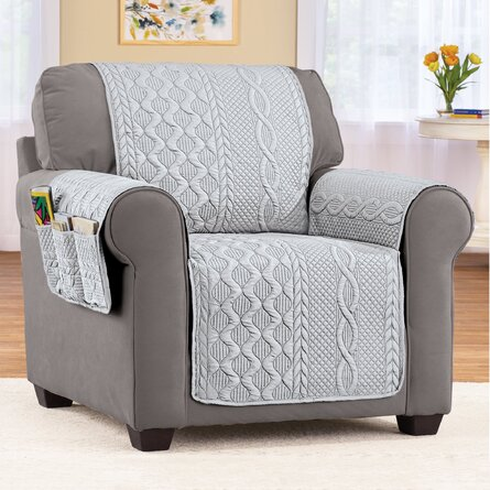 Cable Knit Furniture Cover