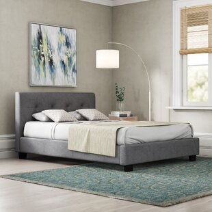 Upholstered Platform Bed By Wrought Studio