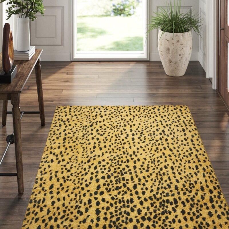 Safavieh Soho Hand Tufted Wool Yellow Black Area Rug Reviews Perigold