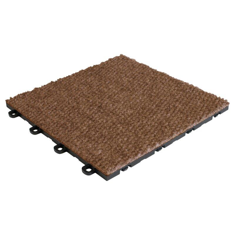 """BlockTile 12"""" X 12"""" Premium Interlocking Basement Floor"""