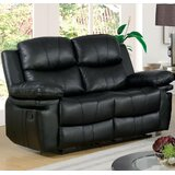Deckland Reclining 59 Pillow Top Arm Loveseat by Red Barrel Studio®