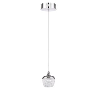 Villegas 1-Light LED Globe Pendant by Latitude Run