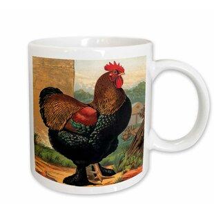 Vintage Rooster Mugs Wayfair