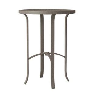 La'Stratta Aluminum Bar Table