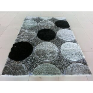 Check Prices Aysegul Black/Gray Area Rug By Orren Ellis