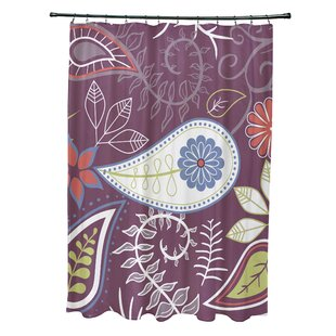 Paisley Purple Shower Curtains Youll Love