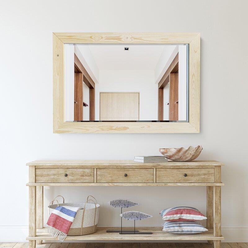 Highland Dunes Woodlake Modern Contemporary Beveled Bathroom Mirror Reviews Wayfair Ca