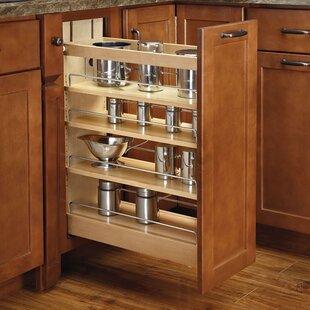 Rev-A-Shelf Pull-Out Wood Base Cabinet Organizer