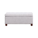 Dekari 39'' Wide Tufted Rectangle Storage Ottoman by Latitude Run®