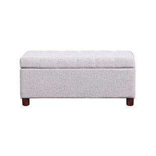 Daygan Upholstered Flip Top Storage Bench