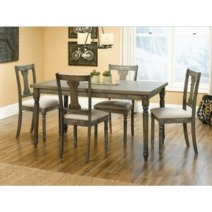 Brie 5 Piece Dining Set by August Grove