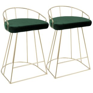 Mendez  65cm Bar Stool (Set Of 2) By Canora Grey