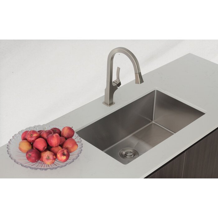 Stylish 28 x 18 single bowl undermount kitchen sink reviews 28 x 18 single bowl undermount kitchen sink workwithnaturefo