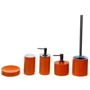 Gedy by Nameeks Yucca 5-Piece Bathroom Accessory Set