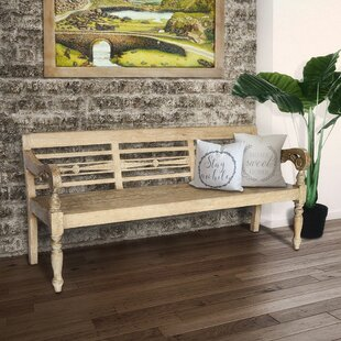 Oneil Wood Bench by One Allium Way