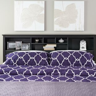 Reviews Legrand King Bookcase Headboard by Andover Mills