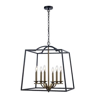 Alcott Hill Crook 6-Light Lantern Pendant