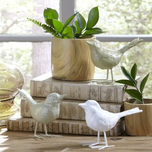 Flock Bird Decor (Set of 3)