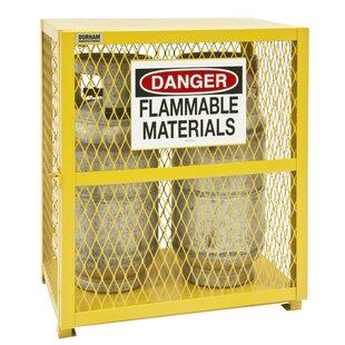 33.5 H x 30 W x 20 D Vertical Cylinder Storage Cabinet by Durham Manufacturing