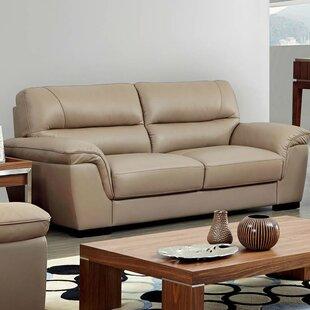 Alivia Leather Sofa