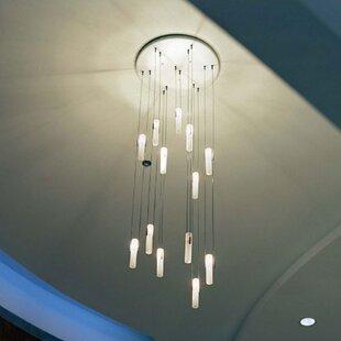 Keytesville Tube 1-Light Cylinder Pendant by Orren Ellis