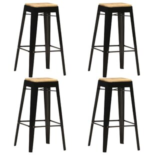 Ensminger 75cm Bar Stool (Set Of 4) By Williston Forge