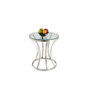 Double Ring End Table by C..