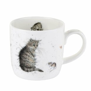 Renick Single Cat and A Mouse Coffee Mug