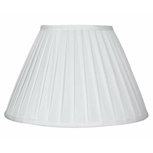 Softback Side Pleat 16 Silk Empire Lamp Shade