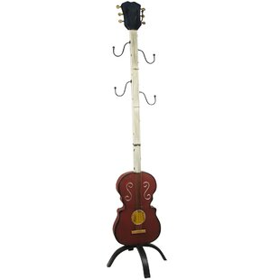 Guitar Coat Rack By Castleton Home