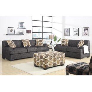 Jesse 2 Piece Living Room Set