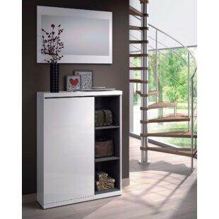 Tendi 12 Pair Shoe Storage Cabinet By Wade Logan