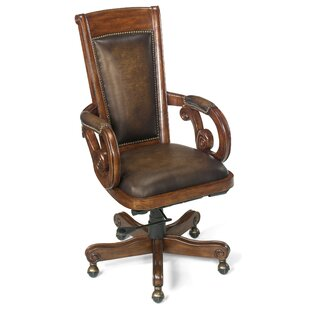 Hooker Furniture Leather Bankers Chair