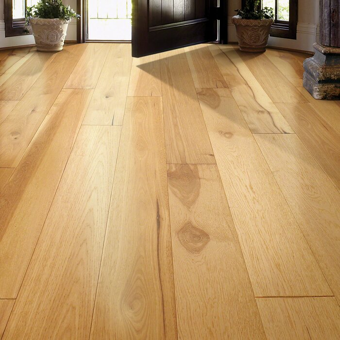 Scottsmoor Hickory 3 8 Thick X 7 1 2 Wide Engineered Hardwood Flooring