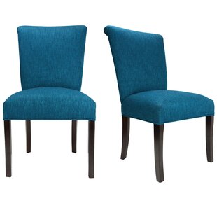 Barcelona Key Largo Spring Seating Double Dow Upholstered Side Chair (Set of 2) by Sole Designs