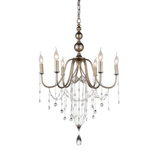 CWI Lighting Pembina 6-Light Chandelier