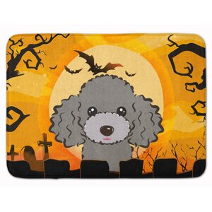 Halloween Poodle Memory Foam Bath Rug