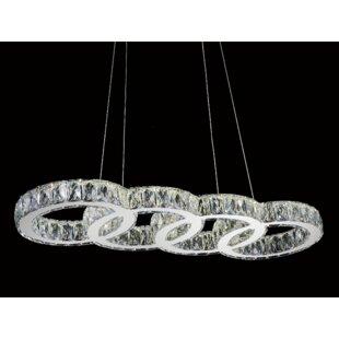 Maxon 1-Light LED Crystal ..