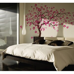 Cherry Blossom Tree Wall Decal Part 73