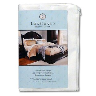 LuxGuard Allergen, Bed Bug and Dust Mite Pillow Protection Zip Cover