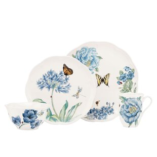 Butterfly Meadow 4 Piece Place Setting, Service for 1