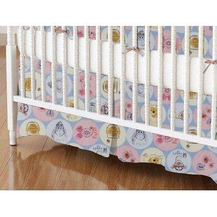 Look for Pooh and Friends Circles Crib Skirt By Sheetworld
