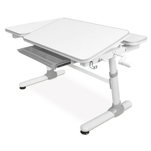 Height Adjustable 47 W Art Desk with Drawer by Mount-it