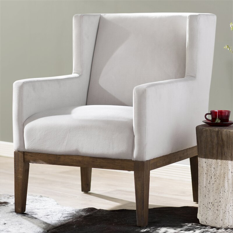 Modern Formal Living Room, Laurel Foundry Modern Farmhouse Lake Macquarie Wingback Chair Reviews Wayfair