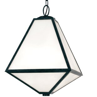 Brayden Studio Hankerson 3-Light Outdoor Pendant