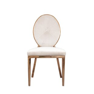 Fraise Upholstered Dining Chair (Set of 2) by Everly Quinn