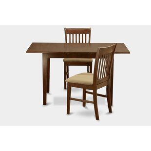 Balfor 3 Piece Extendable Dining Set by Andover Mills #1