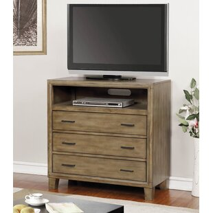 Max 3 Drawer Media Chest