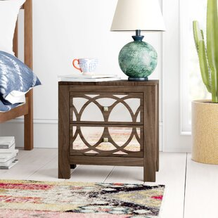 Jasmin 2 Drawer Nightstand by Mistana