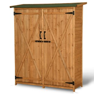4.5 Ft. W X 1.5 Ft. D Solid Wood Lean-To Tool Shed By MCombo